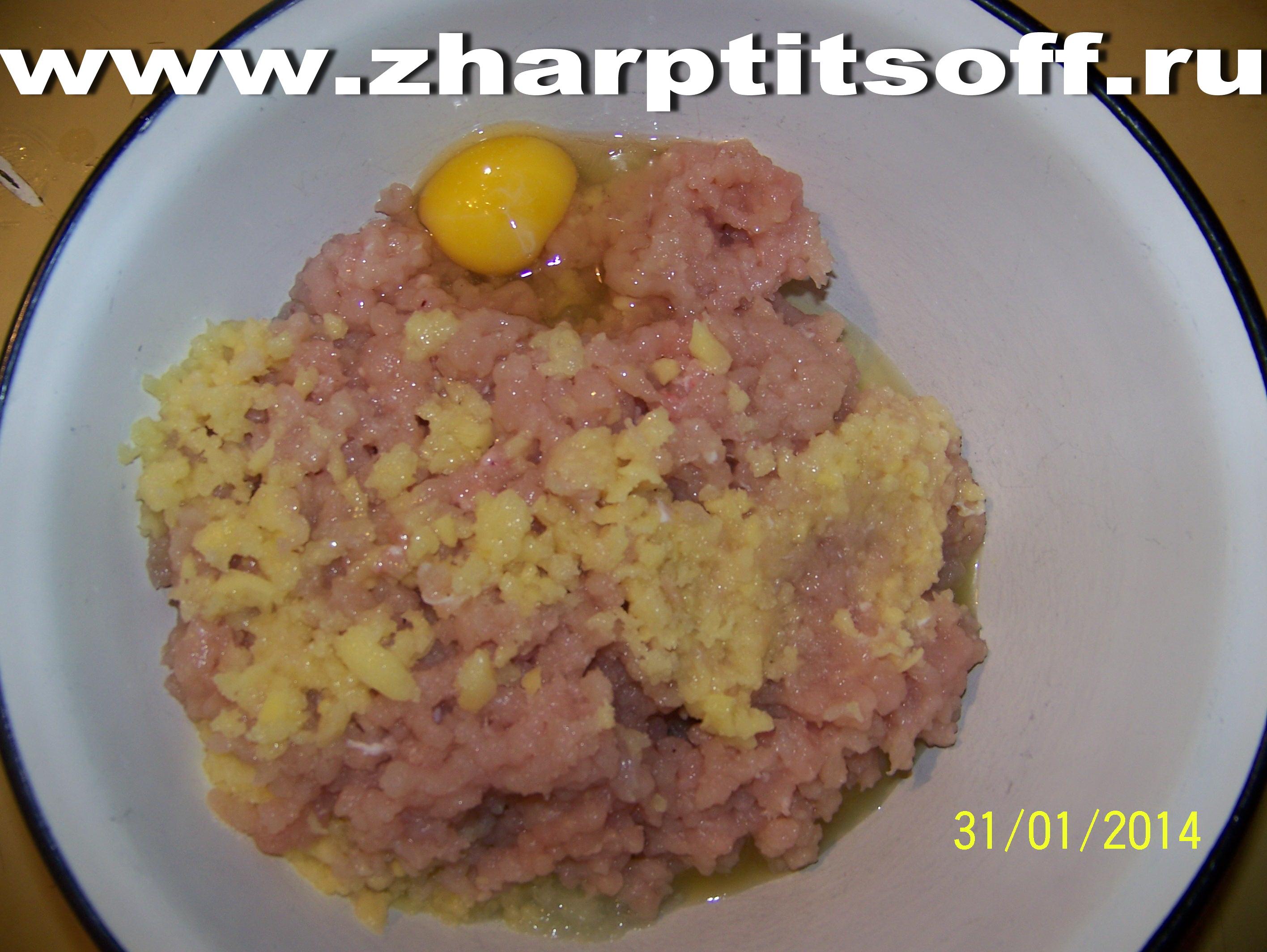 котлеты из филе индейки рецепт с фото пошагово