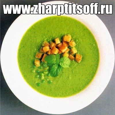 Суп-пюре куриный, горошек зеленый. Готовим диетический суп-пюре.