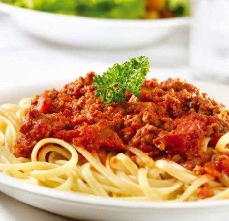 Спагетти с соусом «Куриный»