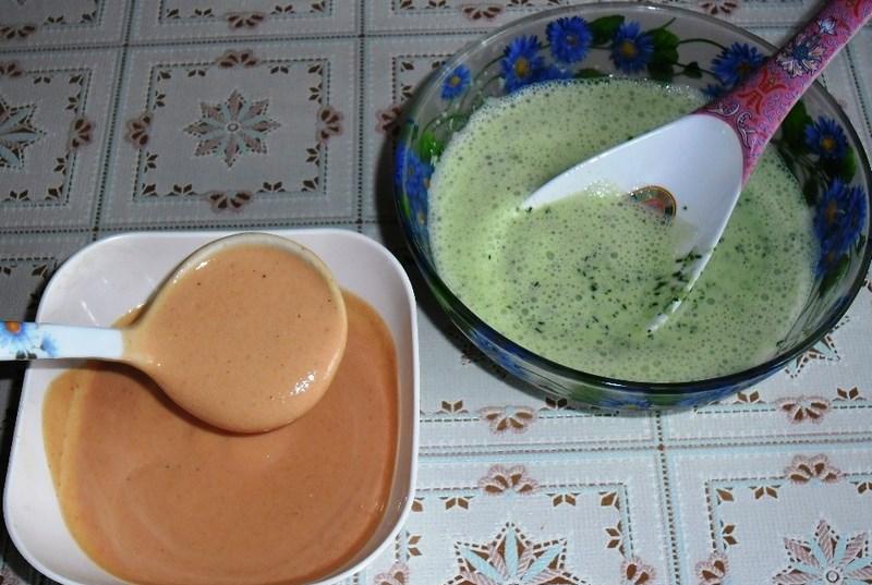 Кефирный соус для птицы. Три разных варианта кефирного соуса.