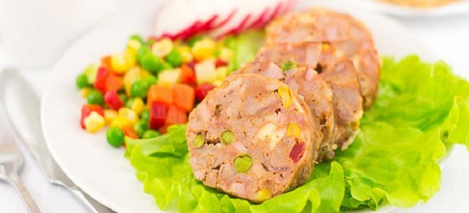 Ветчина из индейки рецепт в духовке. Мясо, овощи, сыр и специи.